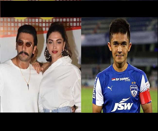 'Baby! You….': When Deepika Padukone exposed Ranveer Singh's poor badminton skills during live chat with Sunil Chhetri