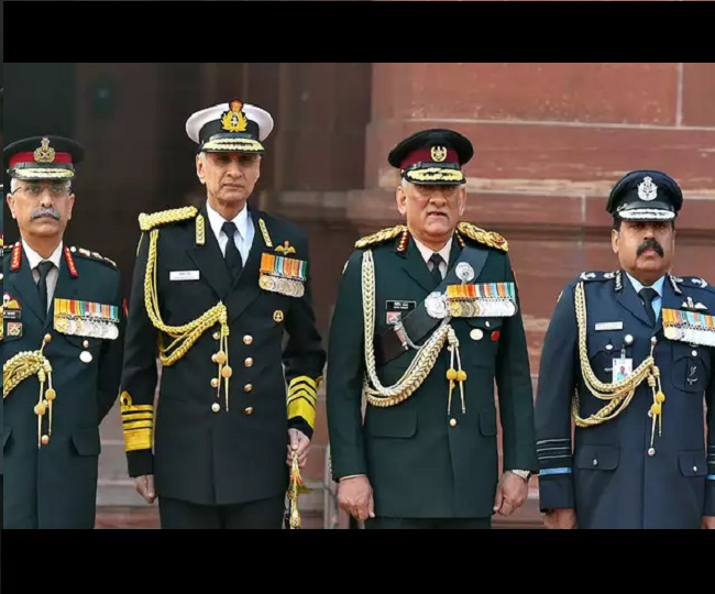 Armed forces to conduct fly pasts, shower petals on hospitals on May 3 to thank corona warriors: CDS General Rawat