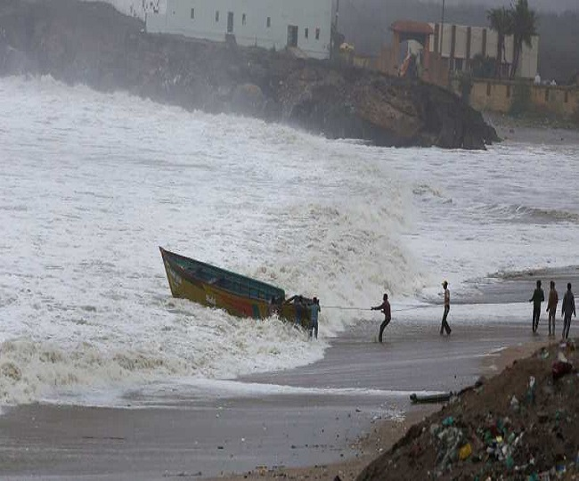 Cyclonic storm over Bay of Bengal today