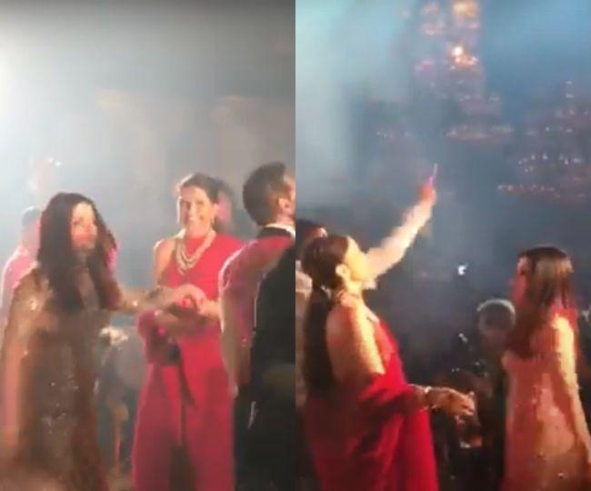 Deepika Padukone dancing with Aishwarya Rai Bachchan on 'Ishq Tadpave' is a treat for the eyes | Watch