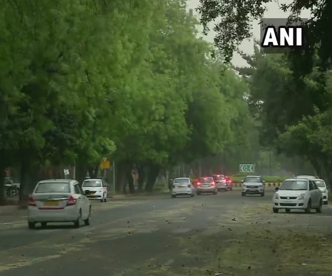 Weather relief in capital as hailstorm, rain lash parts of Delhi-NCR to bring temperature down