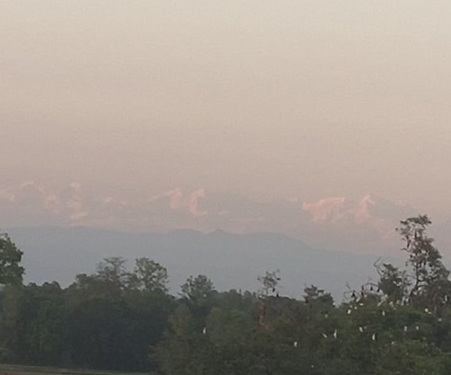 'Nature is balancing': Stunning view of Mt. Everest clicked from this village in Bihar goes viral on Internet | See Pic