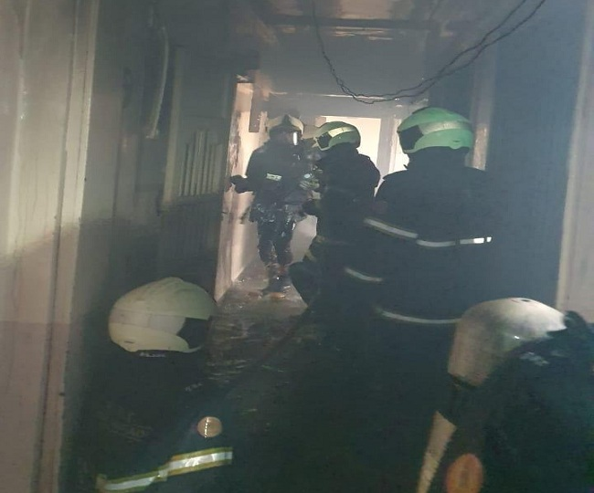 Level 2 fire breaks out at residential building in Mumbai's Mazgaon, rescue efforts underway