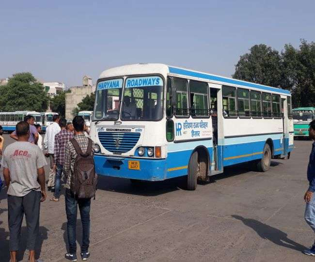 Haryana becomes first state to resume inter-district bus services on selected routes