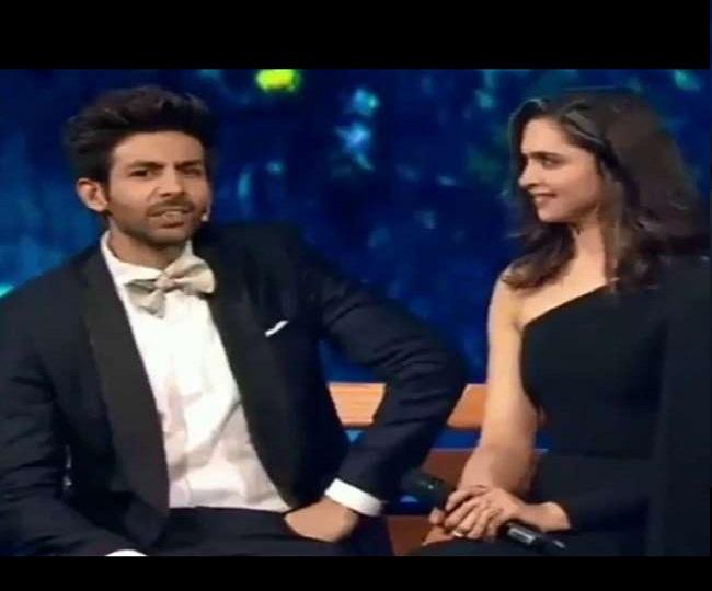 Deepika Padukone has her say on Kartik Aaryan's query if 'he should trim his beard'