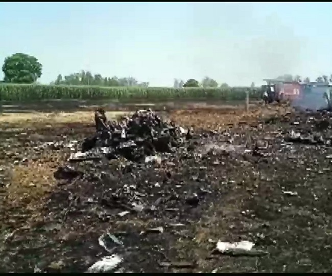 IAF's MiG-29 fighter jet crashes in Punjab's Hoshiarpur, pilot ejects safely