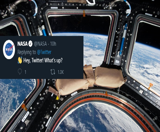 'U Up?': When Twitter proposed NASA for a late night date on top of the world