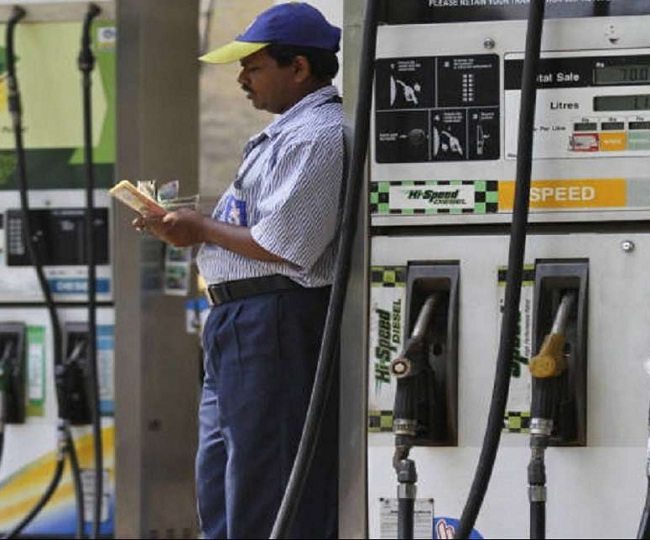Day after Centre's record excise duty hike on fuel, petrol prices in Uttar Pradesh go up by Rs 2, diesel by Re 1
