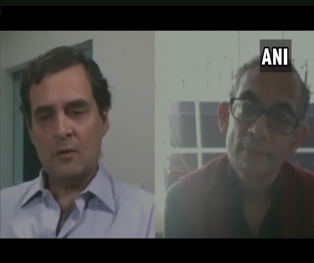 Temporary ration cards, bigger stimulus package: Abhijit Banerjee to Rahul Gandhi on COVID-19 crisis