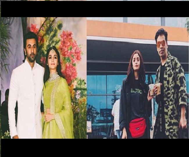 'She is in a happy place': Karan Johar confirms Alia Bhatt got a hair cut from Ranbir Kapoor