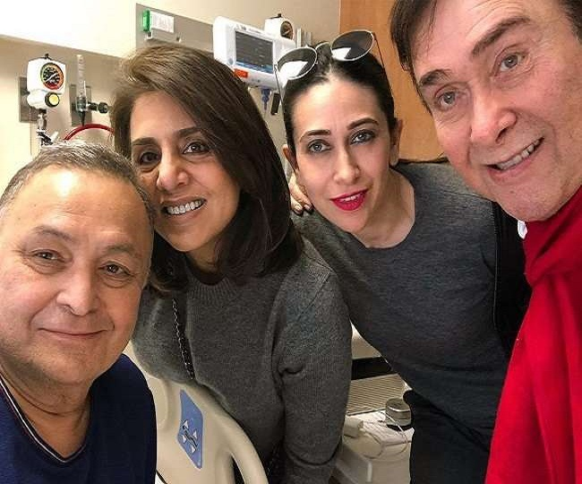 Karisma Kapoor shares unseen pictures of her 'Chintu uncle' Rishi Kapoor | In Pics
