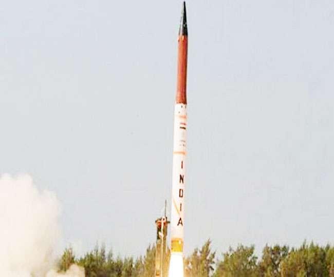 भारत ने किया अग्नि-2 मिसाइल का सफल परीक्षण
