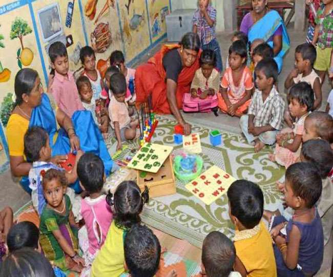 just now Appointment of 31000 Anganwadi workers in UP