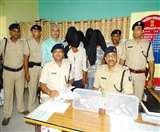 समस्तीपुर में पेट्रोल पंप लूट सहित अन्य घटनाओं में शामिल पांच शातिर गिरफ्तार Samastipur News