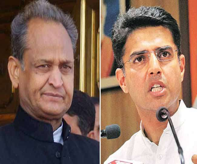 Differences between Sachin Pilot and Ashok Gehlot in Rajasthan