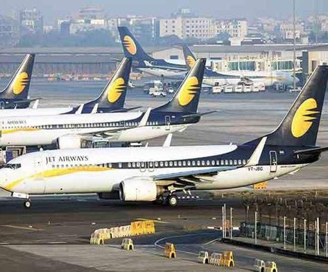 जेट एयरवेस के विमान को उड़ाएंगी अन्य दूसरी एयरलाइन कंपनियां, सरकार की पहल से निकला रास्ता…..!!