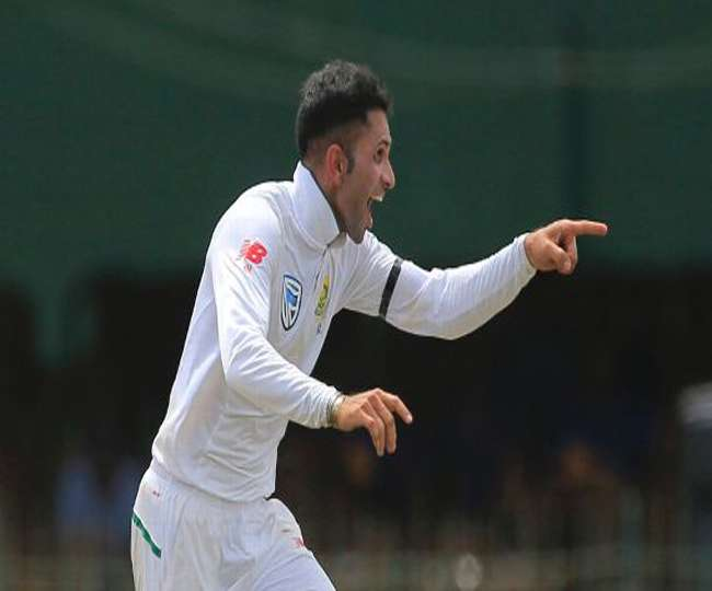 Keshav Maharaj Took Nine Wickets In A Inning Of Test