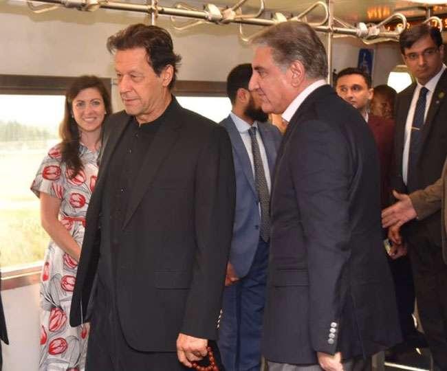 पहली बार अमेरिका पहुंचे पाकिस्तानी PM इमरान खान, सेना प्रमुख बाजवा, ISI चीफ भी साथ