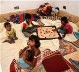 Flood Relief Camp : जहां पहले थी बदहाली, एक दिन में आई खुशहाली Prayagraj News