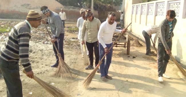 Palwal, gram panchayat work