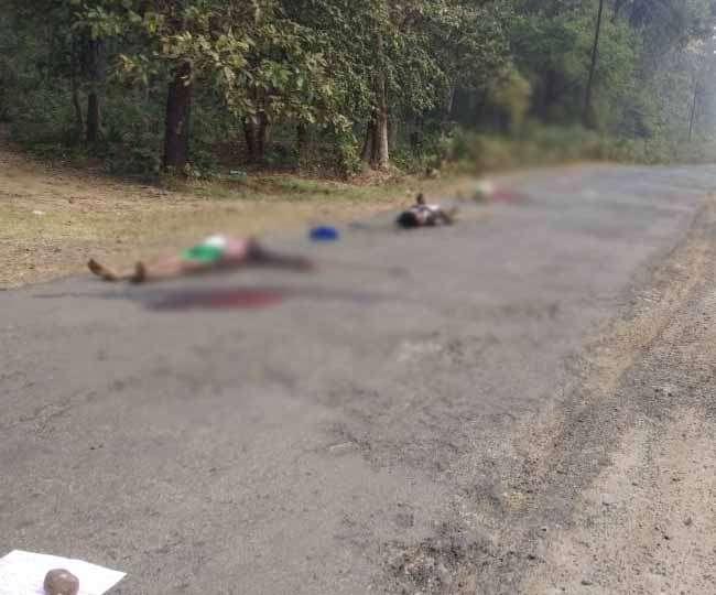गढ़चिरौली में नक्सलियों का तांडव, मुखबिरी के शक में तीन की हत्या कर सड़क पर फेंके शव