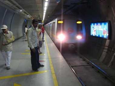Work To Install Platform Screen Doors In Delhi Metro Begins