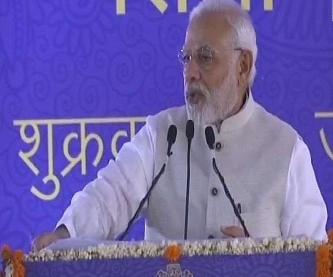 प्रधानमंत्री मोदी ने किया वाणिज्य भवन का शिलान्यास, कहा- GST से इकोनॉमी में सकारात्मक बदलाव