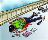 राजनगर में सड़क हादसे में बागबेड़ा के युवक की मौत, ससुराल से लौट रहा था घर Saraikela news