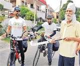 लंबी बीमारी के बाद बलबीर सिंह सीनियर ने नशे के खिलाफ उठाई हॉकी Chandigarh News