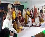 रमणरेती आश्रम पहुंचे दलाई लामा, किया जा रहा महाभिषेक Agra News