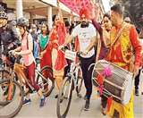 कभी हम साइकिल को कंट्रोल करते थे, आज कारें हमें कंट्रोल कर रही : घुग्गी Chandigarh News