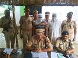सम्भल में ट्रैक्टर काटकर उनके पार्ट्स बेचने वाले गिरोह के दो और सदस्य गिरफ्तार Sambhal news