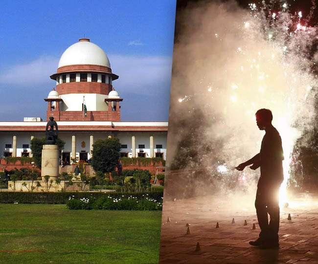 Image result for सुप्रीम कोर्ट ने दिया आदेश, दिवाली पर रात 8 से 10 बजे तक ही जला सकते हैं पटाखे