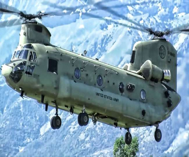 Chinook helicopter will join Air Force fleet
