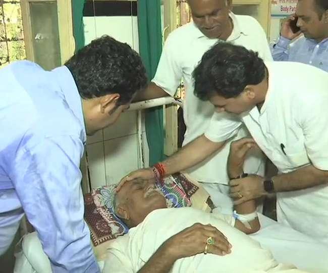 Pandaal Collapse in Barmer: हादसे में 16 की मौत, घायलों से मिलने अस्पताल पहुंचे केंद्रीय मंत्री कैलाश चौधरी