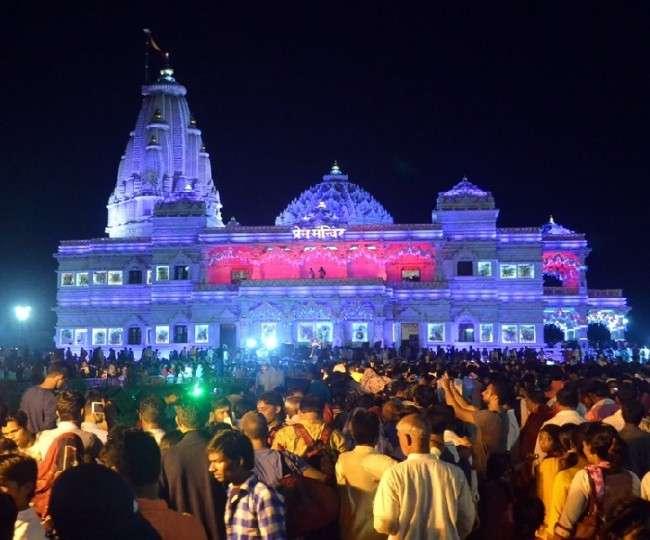 Krishna Janmashtami 2019 : कान्हा के जन्मोत्सव की झलक देखने के लिए उमड़ रही आस्था