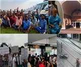 Top Lucknow News of the day, 23 Sep 2019, स्वामी चिन्मयानंद की एंजियोग्राफी, एम्बुलेंस हड़ताल, होम्यो रेजीडेंट्स की हड़ताल, कर्मचारियों की हड़ताल, रेलवे कर्मी पर चली गोलियां