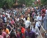 ताज के टिकट को पर्यटक हो रहे परेशान, सुविधा ही बनी यहां तो मुख्य कारण Agra News