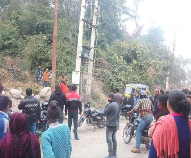 जंगल में बाघिन को देख पेड़ पर चढ़ा युवक, बीवी ने भागकर बचाई जान