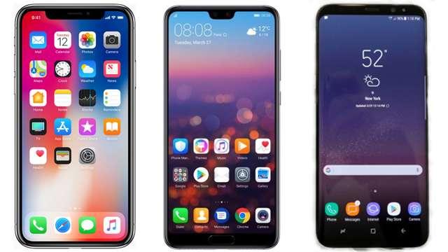 HUAWEI P20 PRO VS SAMSUNG S9 VS IPHONE X