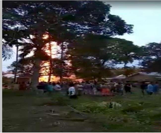इंडोनेशिया: तेल के कुएं में लगी भीषण आग, 11 की मौत; 40 घायल