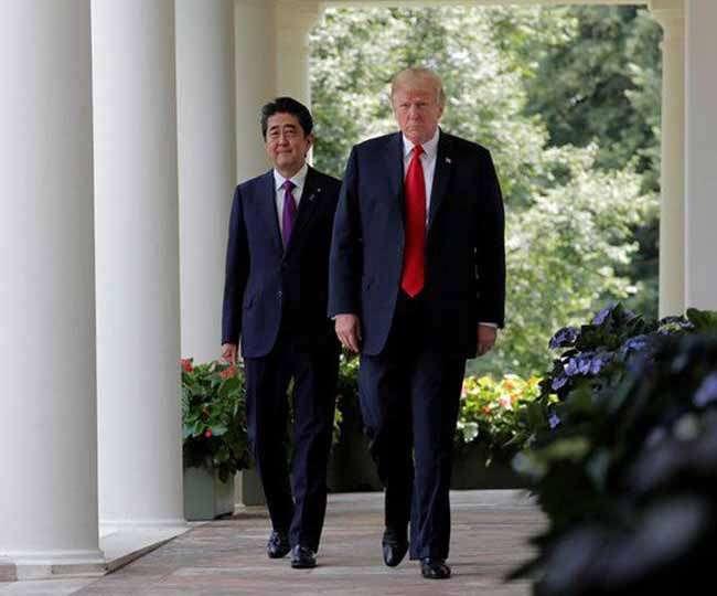 चीन के साथ Trade war के बीच जापान दौरे पर पहुंचे डोनाल्ड ट्रंप