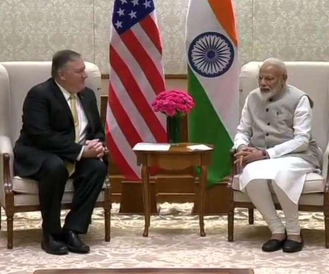 PM मोदी से मिले माइक पोम्पियो, आतंकवाद, रक्षा सहित ये मुद्दे होंगे अहम