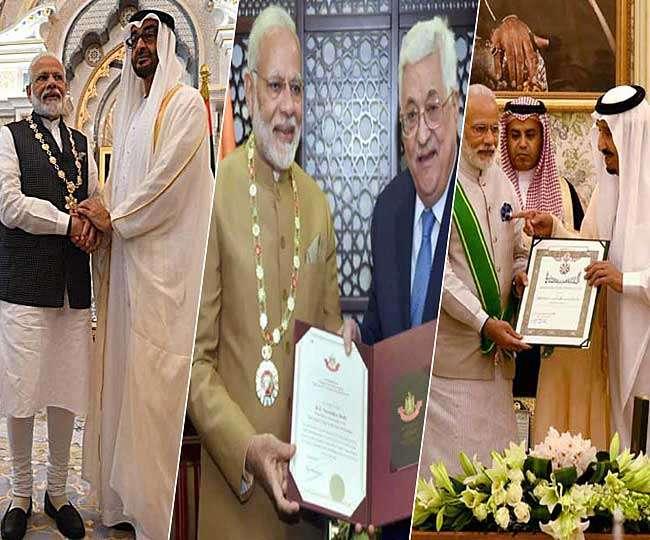 दुनिया मान रही भारत का लोहा, दूसरे देशों में सबसे ज्यादा अवार्ड पाने वाले शख्स बने पीएम मोदी