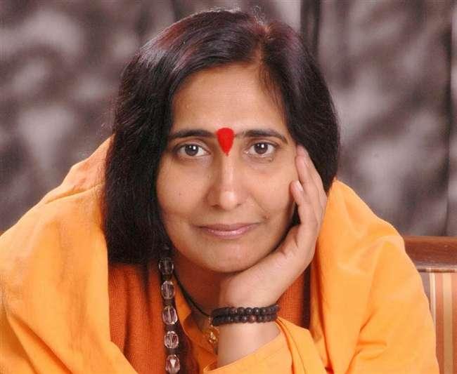 Sadhvi Ritambhara says history can not be allowed to tampered