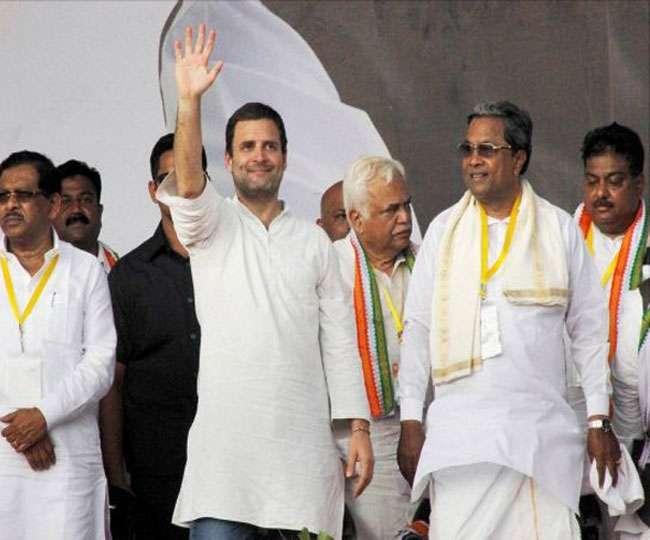 Image result for कर्नाटक में राहुल