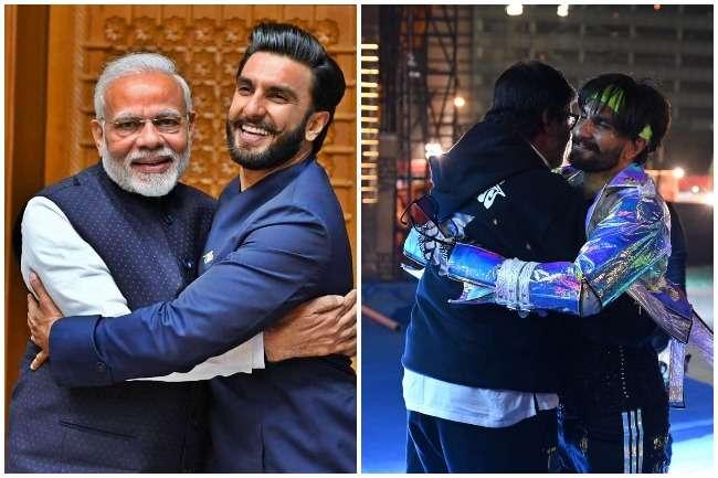 बाज़ नहीं आये रणवीर सिंह, अमिताभ बच्चन संग कर दी पीएम वाली हरकत!