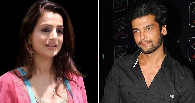 Image result for kushal tandon tweet to Ameesha patel;