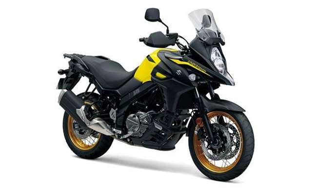 2019 suzuki v strom 650xt abs launched in india. Black Bedroom Furniture Sets. Home Design Ideas