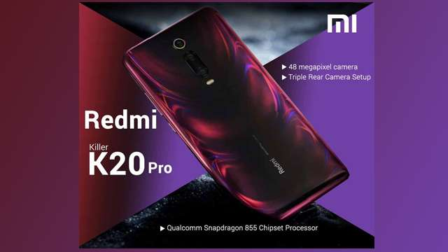Redmi K20 Pro lauched with Snapdragon 855 SoC popup selfie camera